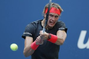 Zverev eases past lucky loser Polansky at U.S. Available