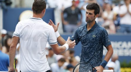 Heat rule in execute as temperature soars at U.S. Open