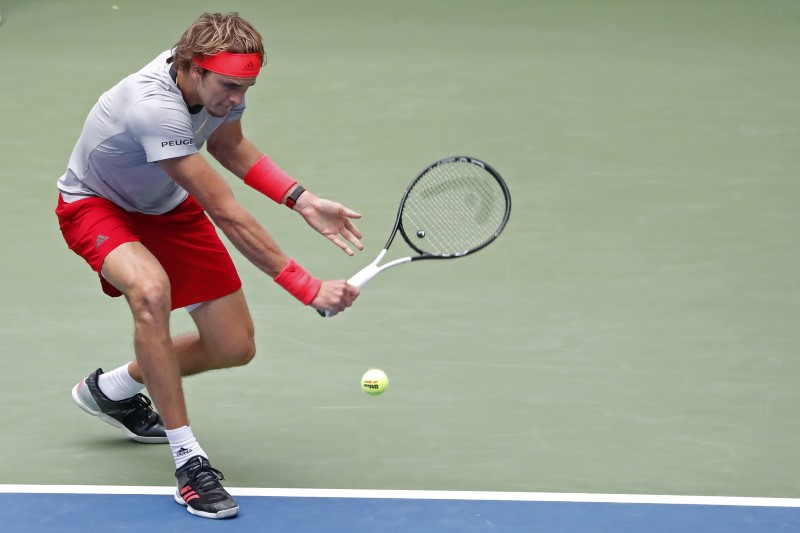 Zverev sails into third round for U.S. Open