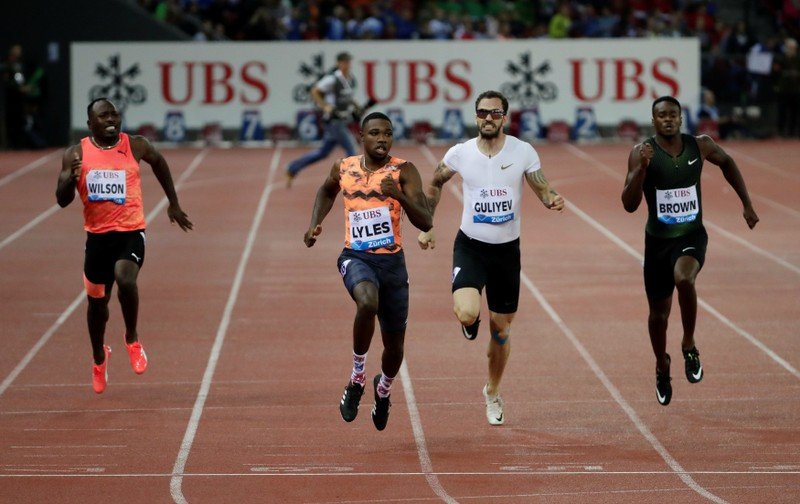 Athletics: Supreme Lyles takes Precious stone League 200m title