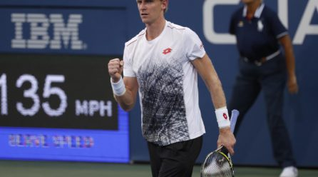 Anderson defeats Chardy and rolls within third round