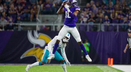 Vikings WR Jones arrested on a couple of allegations