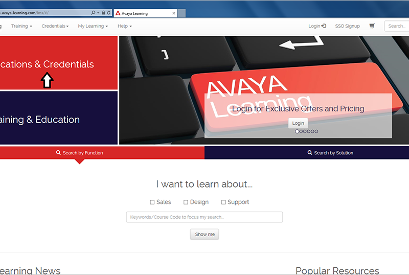 How to Successfully Navigate Avaya's New Certification Site