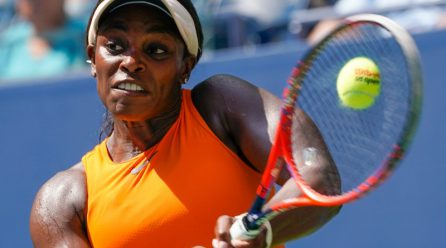 Stephens survives scare to reach finally round in New York