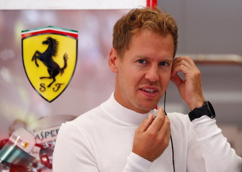 Vettel aims for a triumphant Rolls royce homecoming