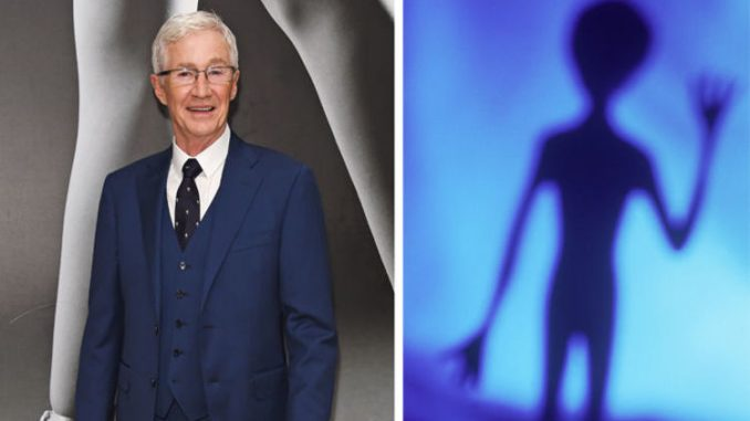 Paul O'Grady Says He Is Staying Watched By Extraterrestrials