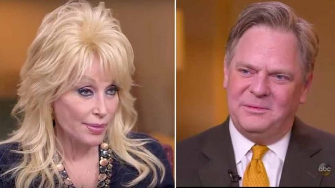 Dolly Parton Embarrasses ABC Host By Abnegating To Trash Talk The POTUS